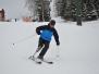 Výuka lyžování v Albeřicích leden 2011